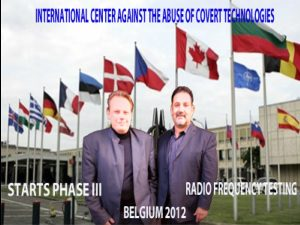 Lars and Jesse from the International Center Against Abuse of Covert Technologies