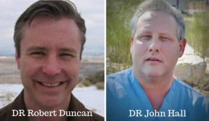 Dr Robert Duncan & Dr John Hall