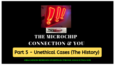 History shows us many unethical cases of inhumane illegal human experimentation.