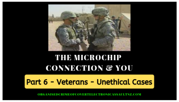 Veterans tell us about the microchip implants & various other experiments they endured